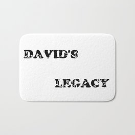 David's Legacy Scattered Leaves Bath Mat