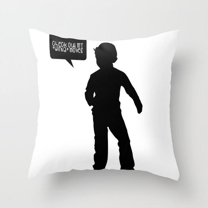 CG full body Throw Pillow
