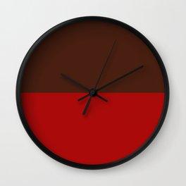 Choc Cranberry Wall Clock