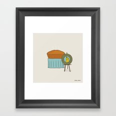 Banana Dead Framed Art Print