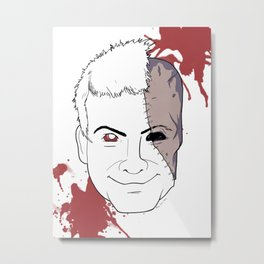 Zombie Mike Nelson Metal Print