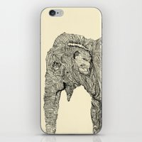 elephant iPhone & iPod Skins featuring Elephant by Struan Teague