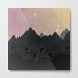 Olber, Invisible Stars Metal Print