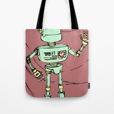 Robot Jones Tote Bag