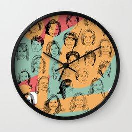 24 Female CEOs Wall Clock