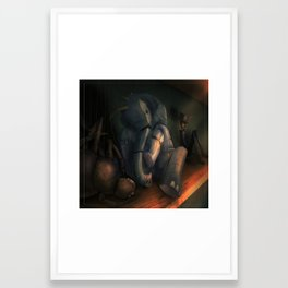 Lonely Puppets Framed Art Print