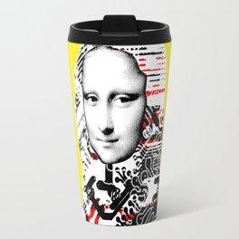 Mona Lisa Platina 2 Travel Mug