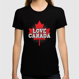 Love Canada Gifts and Apparel T-shirt