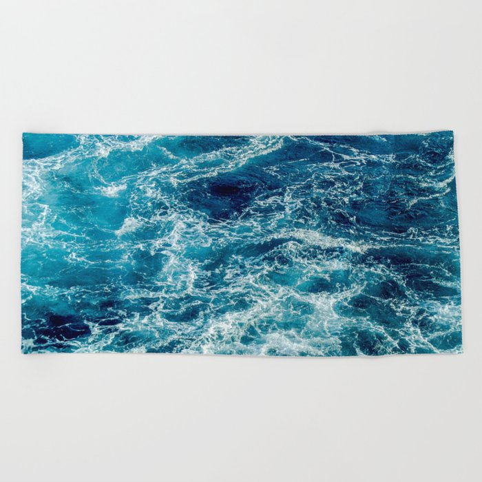 Tough Times Are Temporary Beach Towel