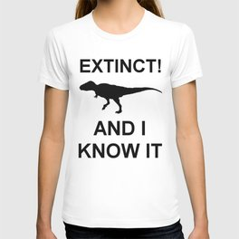 Extinct T-Rex T-shirt