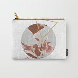 Pastels Geometric Abstract Carry-All Pouch
