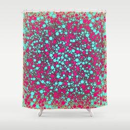 Soda Bang! (Circle Packing Art) Shower Curtain