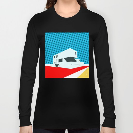 Bauhaus Meisterhaus Pop 3 Long Sleeve T-shirt