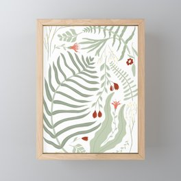 Paku Pakis Framed Mini Art Print