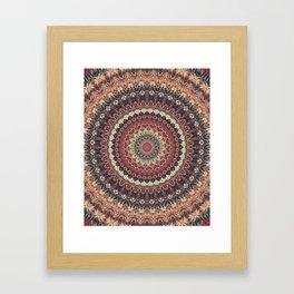 Mandala 595 Framed Art Print