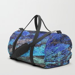 Malachite Mineral Stone rustic decor Duffle Bag