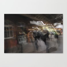 Means Of Motion. Canvas Print