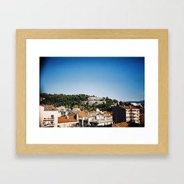 A Niçoise view (2). Framed Art Print