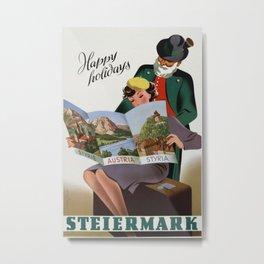 Vintage poster - Steiermark Metal Print