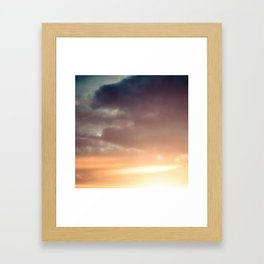20 Minutes of Sky 1 Framed Art Print