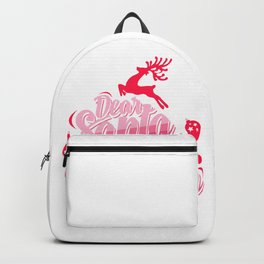 Dear Santa I can Explain Backpack