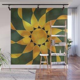 Autumn Sun Two Wall Mural