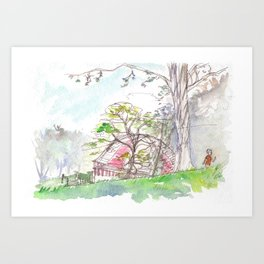Art in the Park Art Print