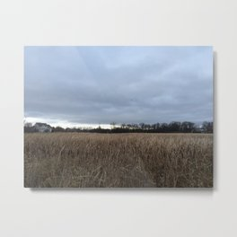 Clouded Over Metal Print