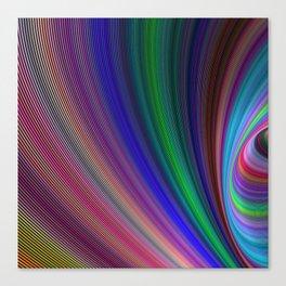 Vivid storm Canvas Print