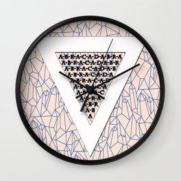 Abracadabra! (Upside Down) Wall Clock