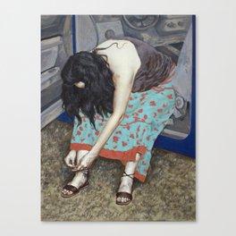 Shoelace Canvas Print