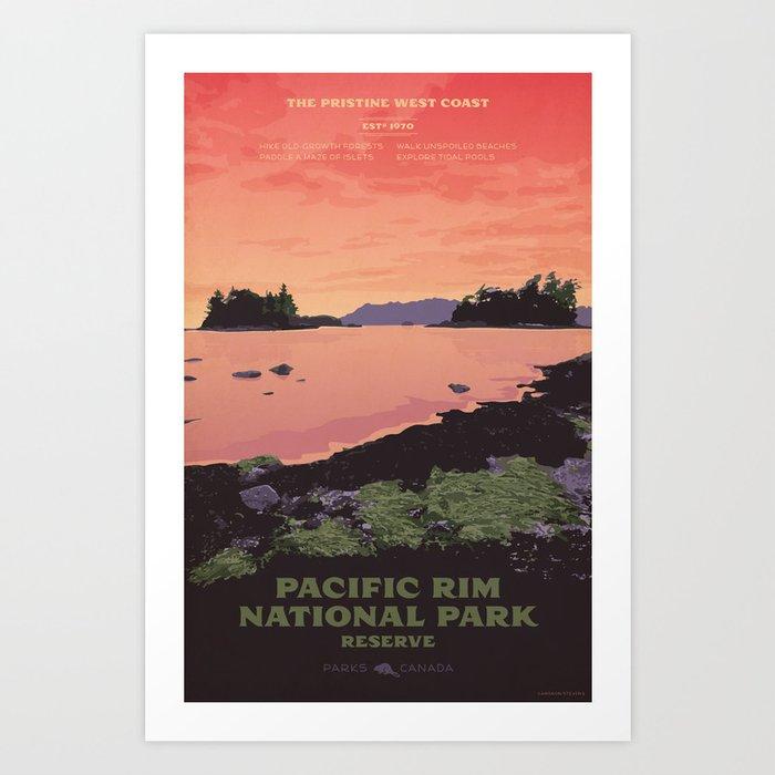 Pacific Rim National Park Reserve Kunstdrucke