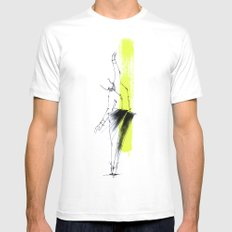 one Mens Fitted Tee White SMALL