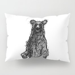 Black Bear Pillow Sham