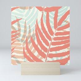 Fern Pastelltöne Mini Art Print