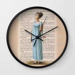Jane Austen - Elizabeth Bennet Wall Clock