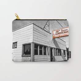 Corner laundromat Carry-All Pouch