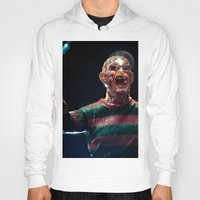 freddy krueger Hoodies featuring Freddy Krueger by TJAguilar Photos