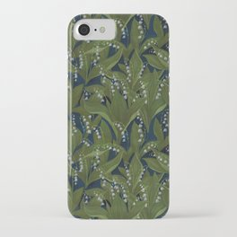Lily of the Valley Field iPhone Case
