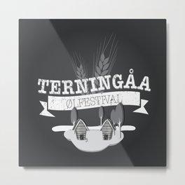Terningåa Ølfestival Metal Print