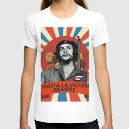 Che Guevara - hasta la victoria siempre T-shirt