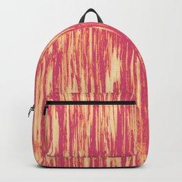 Ikat Streaks in Coral Backpack