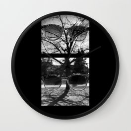 Take Off Your Sunglasses Wall Clock