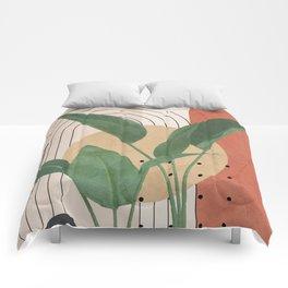 Nature Geometry V Comforters