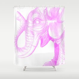 the party animal Shower Curtain