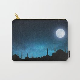 Istanbul, Hagia Sophia and Blue Mosque; Starry Night Carry-All Pouch