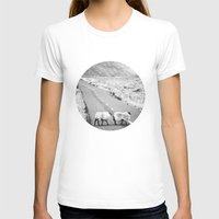 irish T-shirts featuring Irish Sheeps by GF Fine Art Photography