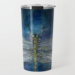 Interstellar Dragonfly Travel Mug