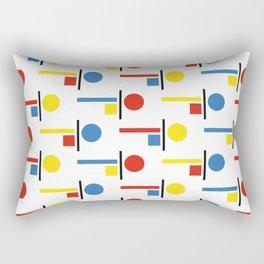 Bauhaus Komposition Rectangular Pillow