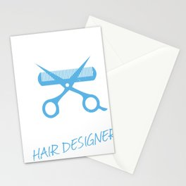 PHD Professional Hair Designer Stationery Cards